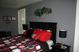 Red Black And Grey Bedroom Red Black And Grey Color Scheme Tween Boys Bedroom Pinterest