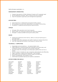 ... Remarkable Office Skills Resume List with Additional Listing Skills On  A Resume ...