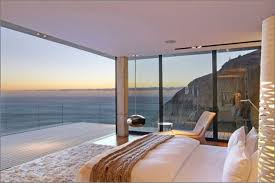 ... bedroom with an ocean view  Photo via www.stylefashionista.com