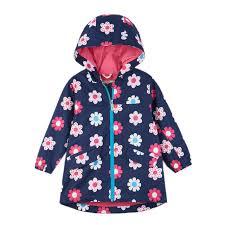 Hatley Raincoat Size Chart Hatley Spring Flowers Microfiber Rain Jacket Size 4 Sample