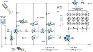 car light circuit page 2 automotive circuits next gr Truck Strobe Light Diagram automotive led timing light Light Circuit Diagram