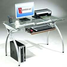 metal and glass desk gorgeous metal computer desk perfect interior design plan with tempered glass top metal and glass desk