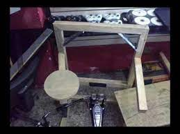 homemade practice drum kit awesome