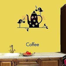 stickers coffee cup birds vinyl wall sticker decals cuisine mural wall art kitchen coffee shop tile on wall art kitchen coffee with stickers coffee cup birds vinyl wall sticker decals cuisine mural