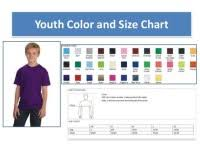 Comfort Colors Youth Size Chart Comfort Colors Crewneck