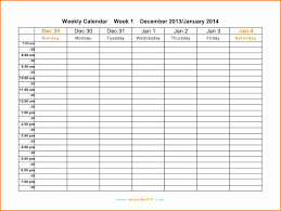 Printable Weekly Calendar 24 Printable Weekly Calendar 24 Expense Report 15