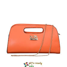 Orange In Coach Bleecker Saffiano Small Crossbody Bags 2017 Fashionable