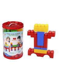 <b>Конструктор</b> Jumbo Magic Blocks <b>40 деталей</b> в ведре <b>PILSAN</b> ...