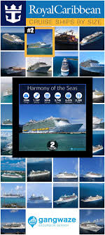Royal Caribbean Ships By Size 2019 With Comparison Chart