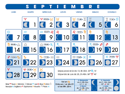 Calendario Lunar Septiembre De 2015