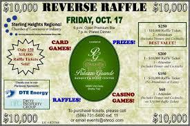 Reverse Raffle Rules 10 000 Reverse Raffle Friday October 17 Call The Chamber