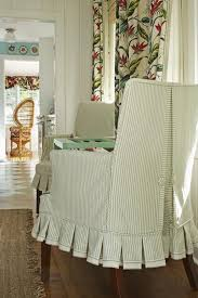 a pleated skirt adds a kicky cote charm she used the fabric s selvage as trim for the bottom of the skirts betsy srt s fl cote