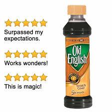 Old English Scratch Cover For Light Woods 8 Fl Oz Bottle