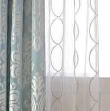 curtain curtain pair of gold leaf infinity patterned embroidey sheer embroidered panels lengthembroideredtains white 87