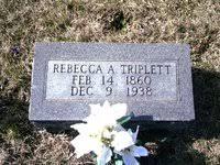 Rebecca Angeline Foley (deceased) - Genealogy