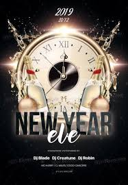 New Year Flyers Template New Year Eve Psf Flyer Template