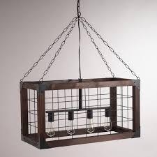rectangular pendant lighting. View In Gallery Rectangular Farmhouse Pendant Lamp DIY Lighting