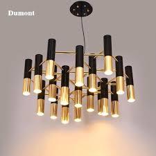 black chandelier lamp black and gold metal aluminum chandelier lamp modern design suspension light for black chandelier table lamp