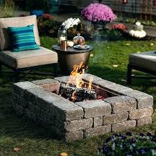 outdoor fire pit ideas backyard wcloaorg