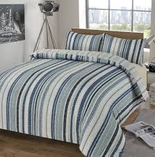 deakin blue duvet set
