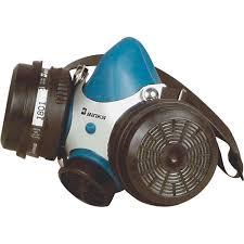 binks dual cartridge paint respirator um