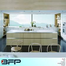 customized kitchen cabinets. Simple Customized Light Color Wood Veneer Customized Kitchen Cabinets For Home Furniture  Blk23 And