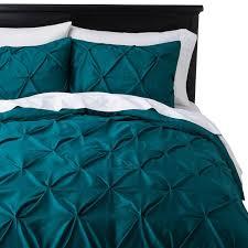 Best 25+ Teal bedding sets ideas on Pinterest   Bedding sets ... & Teal bed set, Target. Threshold Pinched Pleat Duvet Cover Set Adamdwight.com
