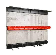 Pegboard storage bins Hardware Ultrawall Garage Storage Pegboard With Hooks Garage Storage Bins Tool Board Panel Tool Organizer Amazoncom Amazoncom Ultrawall Garage Storage Pegboard With Hooks Garage Storage Bins
