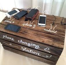 phone charging station awesome best mobile bidding ideas images on of diy wooden chargin