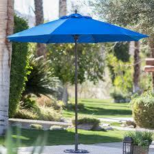 patio umbrella replacement canopy 8 ribs beautiful belham living 9 ft wood mercial grade sunbrella market