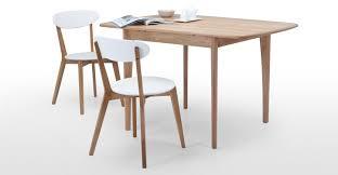 monty extending dining table in oak  madecom