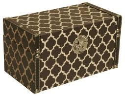Cheap Decorative Storage Boxes Black White Trellis Decorative Storage Box Wald Imports 82