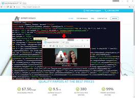 adgholas malvertising thrives in the shadows of ransomware the fraudulent website expert essays com which was registered 22 is using a certificate from let s encrypt and is a replica from essayoneday com
