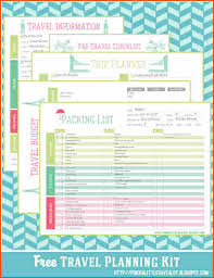 vacation budget planner vacation budget plannermemo templates word memo templates word