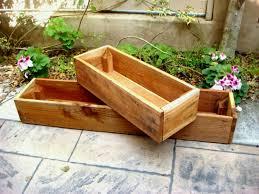 diy wood planter boxes for indoor or outdoor garden house design 9 cool small garden box