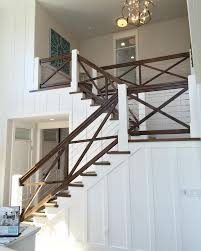 Such a cool hand railing! I love how they used the cables to keep the