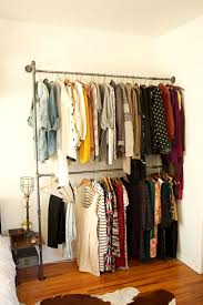 ... Wardrobe Racks, Clothes Rack Industrial Industrial Garment Rack With  Shelf Wall Mounted Metal Clothes Rack ...