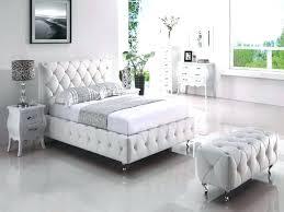 White Leather Bedroom Furniture Queen Set Sets Fantastic