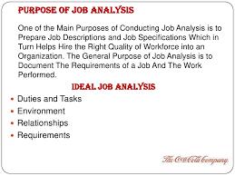 Job Analysis Advantages Disadvantages Scribd