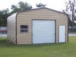 garage with 9x8 garage door on end