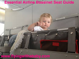 Baby Bassinet Seats A Guide To Airline Baby Bassinet Seat Restrictions