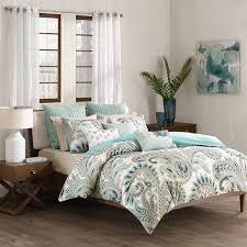 brilliant inkivy mira 3 piece cotton duvet cover mini set free pertaining to seafoam jpg madison park nia 4
