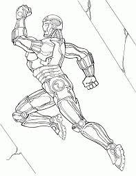 Iron Man Kleurplaten Voor Kinderen Kleurplaat En Afdrukken