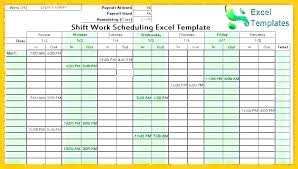 Schedule Maker For Work Work Schedule Maker Template Free Download Weekly Work Schedule