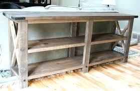 rustic sofa table ideas. Rustic Couch Table Stunning Console Reclaimed Sofa Ideas Wood