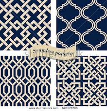 Arabic Patterns Gorgeous Blue Arabic Pattern Vector Download Free Vector Art Stock