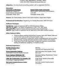 Entry Level Resume Objective Resume Objective Entry Level Accounting Fresh Ideas Entry Level 80