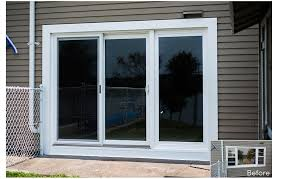 triple sliding glass patio doors home design ideas for door idea 17