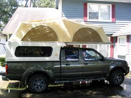 2003 nissan frontier with tent camper nissan frontier camper tent at Nissan Frontier Camper
