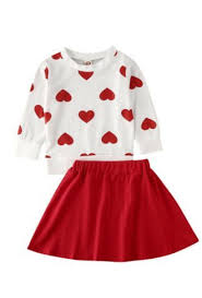 This valentine craft uses your child's picture for a cute card. Girls Valentine Heart Sweatshirt Skirt Set Preorder 12 Months To 5 Years Girls Valentine Dresses Valentine S Day Outfit Valentines Outfits